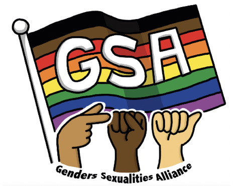 A logo of Gender Student Alliance