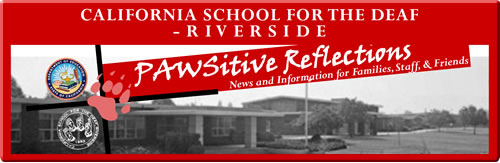 CSDR PAWSitive Reflections Newsletter - Spring 2013